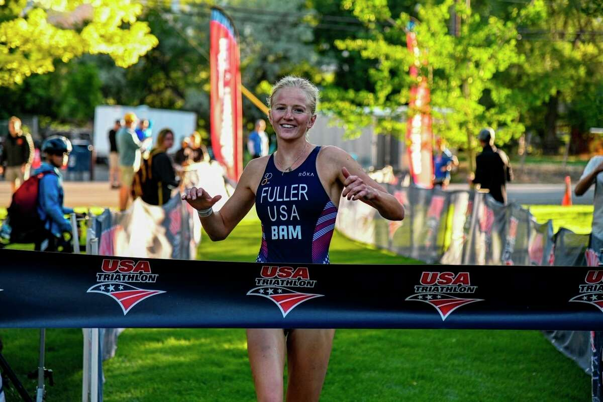 Annie Fuller recently competed in her first professional triathlon. (Courtesy photo/Eduardo Miller Photography)