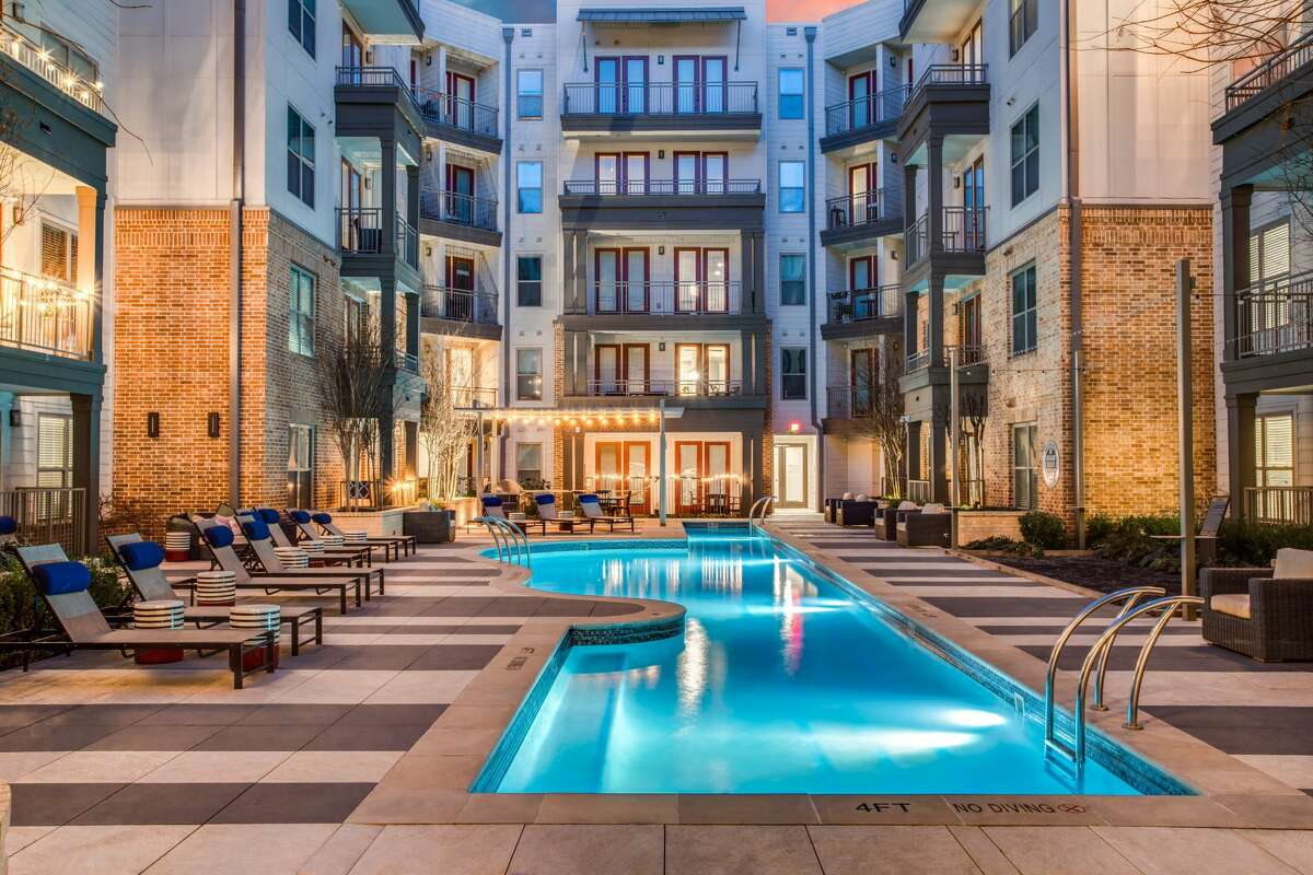Barvin purchased the 302-unit Novel at Bishop Arts apartments at 111 W. Davis St. in Dallas. The courtyard has a guitar-shaped pool inspired by Stevie Ray Vaughan.