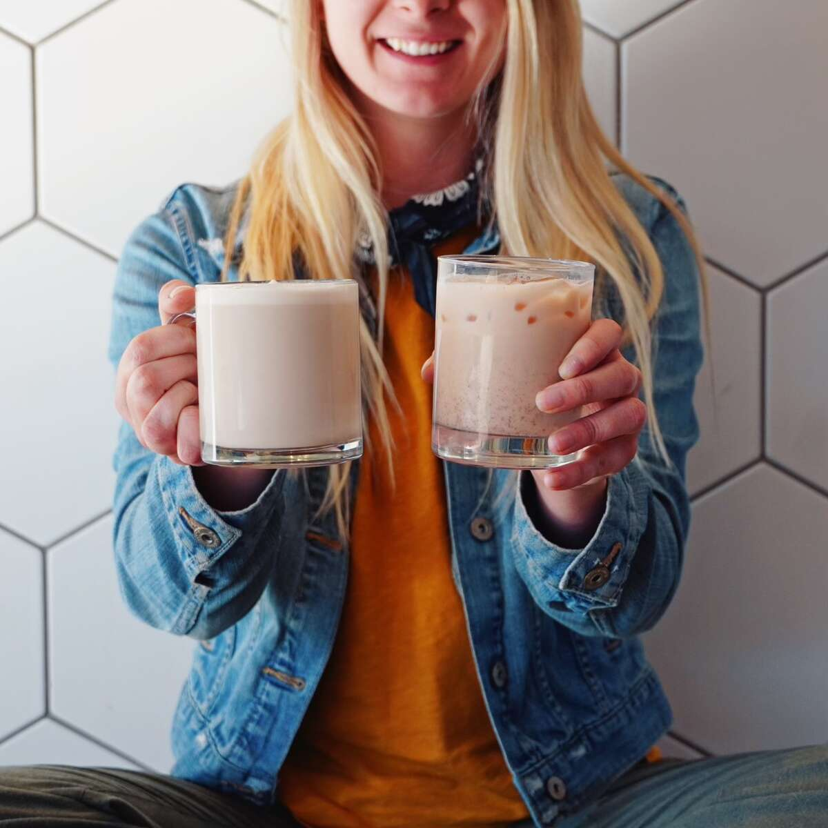 Marissa Bourcier of Linwood frequented Grove Tea Lounge as a customer during its first year in business, before joining the staff in September of 2020. (Photo provided/Marissa Bourcier)