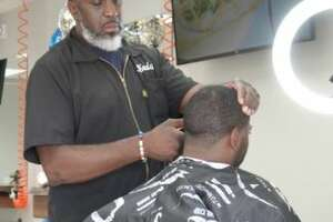 The Capital District Barbershop Lounge is in Loudon Plaza will offer free kids cuts Sept. 5.