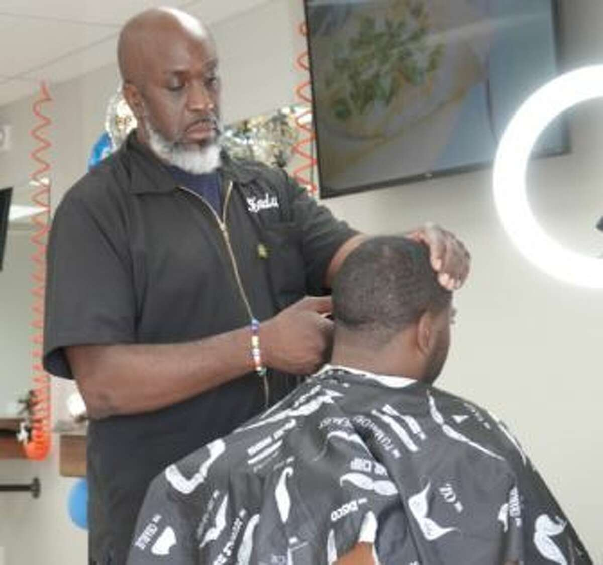 The Capital District Barbershop Lounge is in Albany's Loudon Plaza and will offer free haircuts to boys ages 15 and under on Sept. 5, 2021, in time for the new school year.