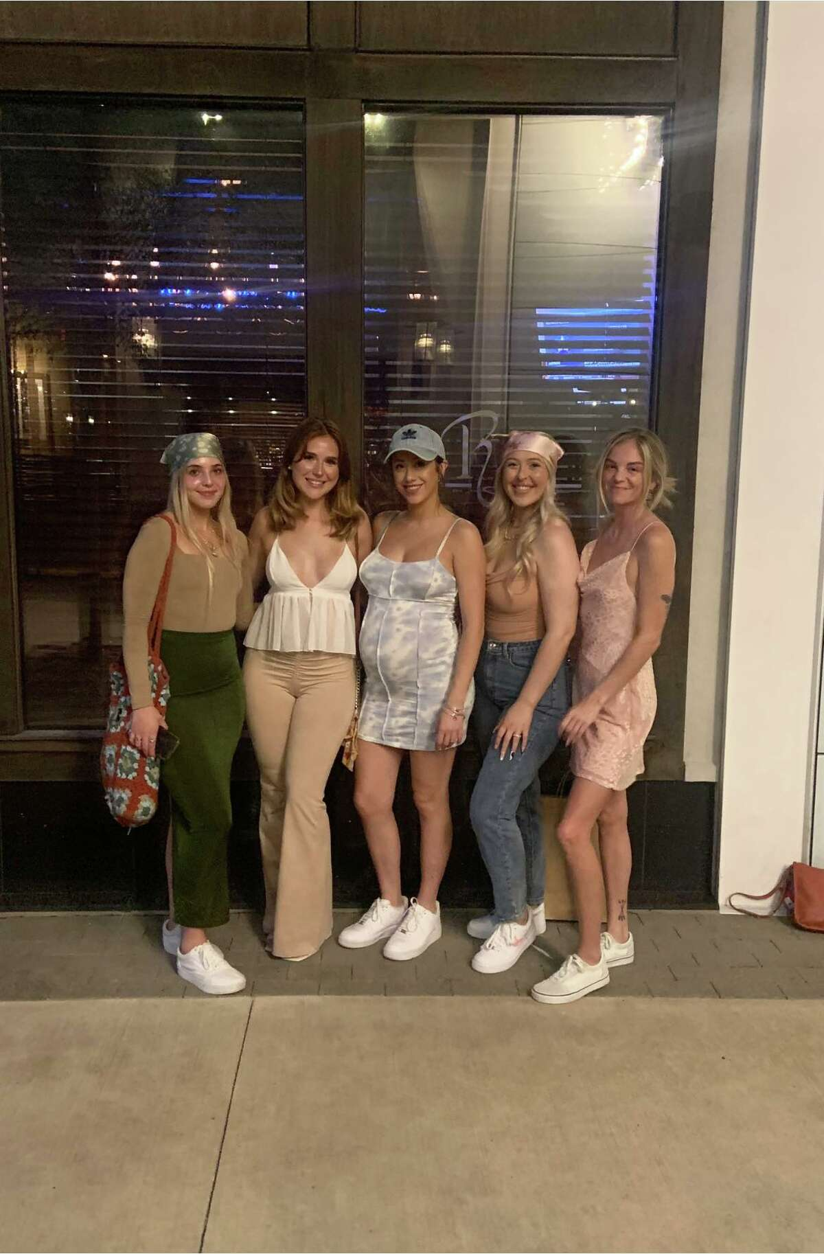 """""""We were all just dumbfounded,"""" Hughes, who is 25 weeks pregnant, said. """"How are you going to turn away a pregnant woman? I'm hungry. I would wear this outfit with my family."""""""