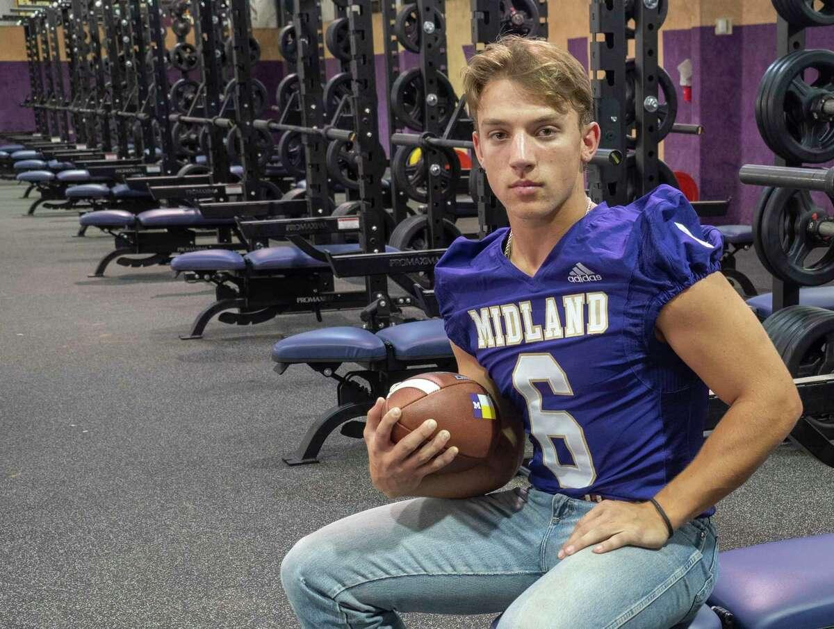 Midland High quarterback Landry Walls. 07/29/2021 Tim Fischer/Reporter-Telegram