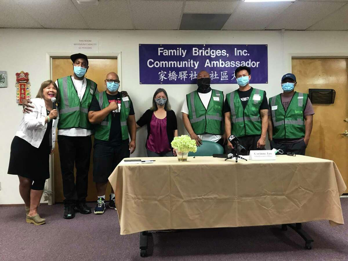 Family Bridges, a social services organization in Oakland, announced the launch of their community ambassador program in Chinatown. Community ambassadors work to prevent violence on city streets.