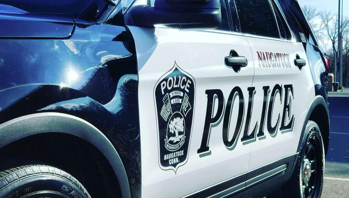 Naugatuck police cruiser