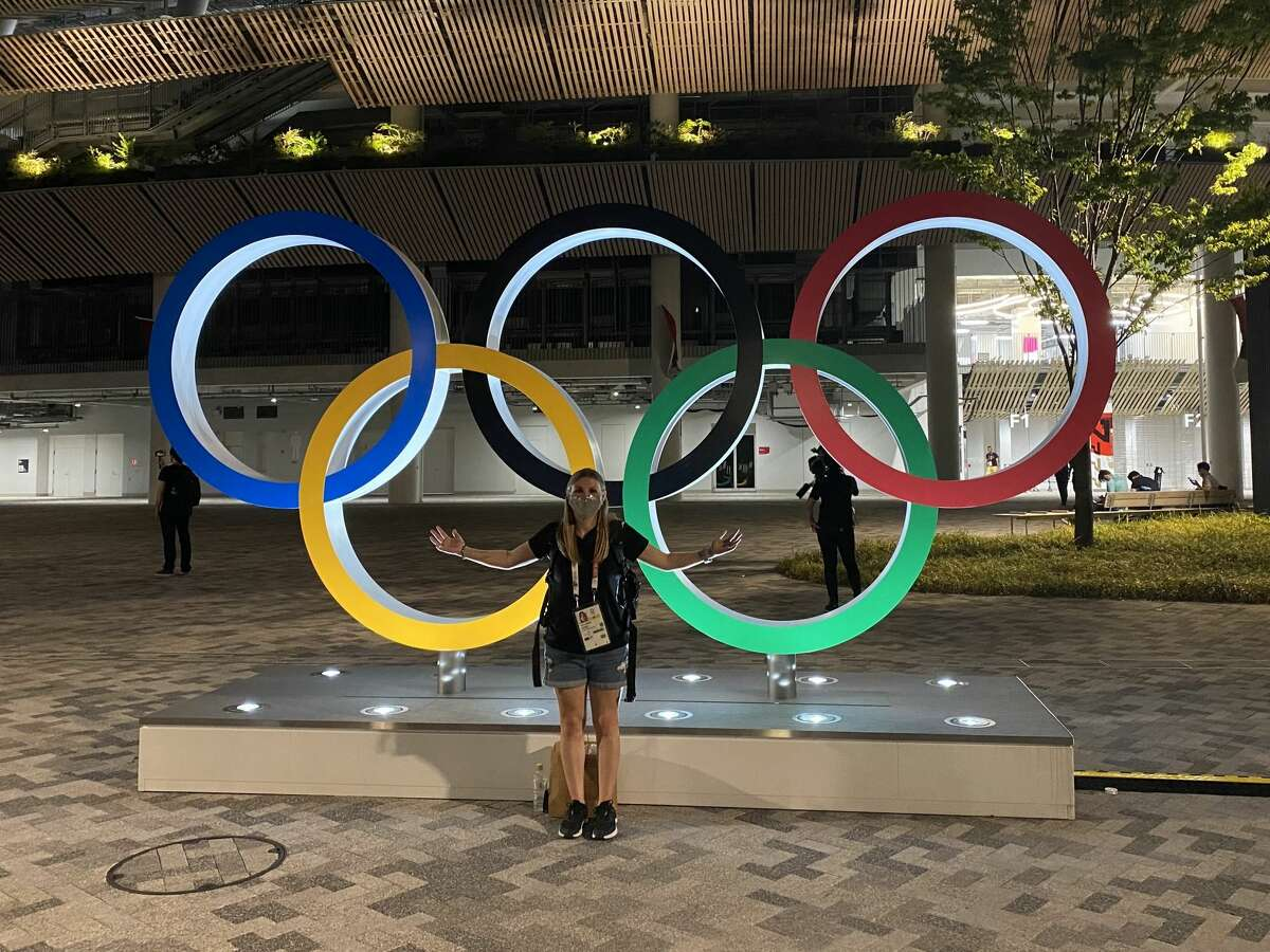 Univeristy of the Incarnate Wold alumna Brittnay Nelson is covering the Tokyo Olympics for the U.S. Army.