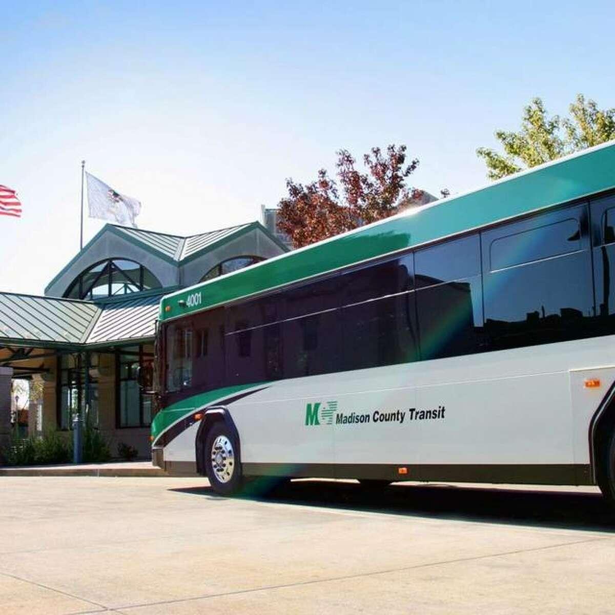 Madison County Transit's Muny Express resumes service on Friday, July 30.