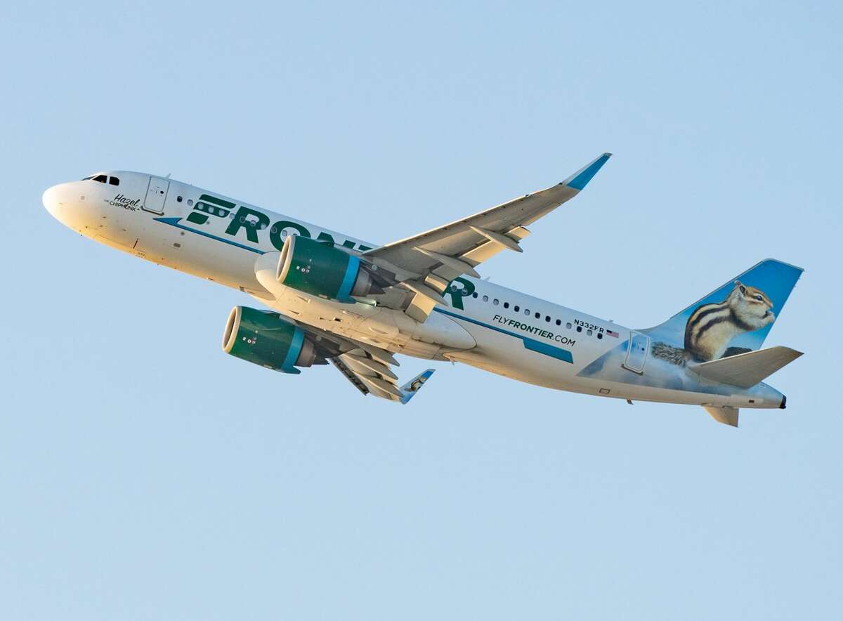 FILE -- A Frontier Airlines Airbus A320.