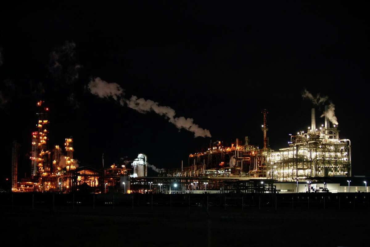 Portions of the LyondellBasell facility in La Porte, July 27, 2021. At least two people died and several more were injured in an explosion at the facility Tuesday evening.