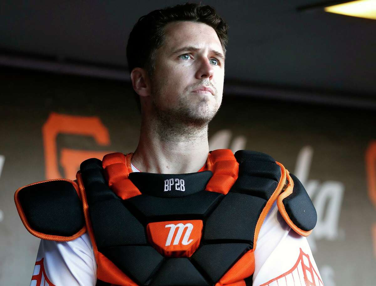 After sitting out the abbreviated 2020 season, Giants catcher Buster Posey has experienced an offensive resurgence this year.