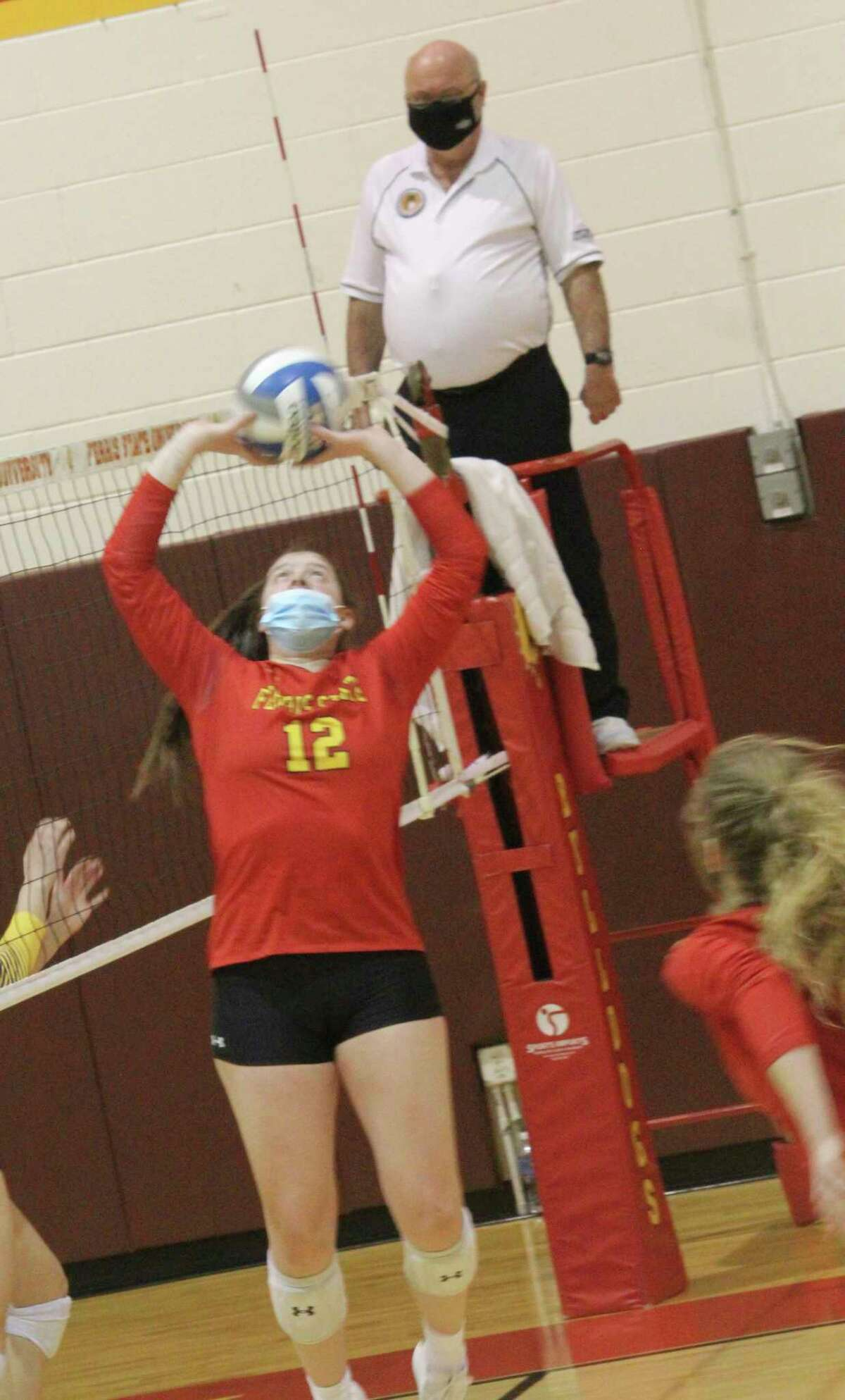 Ferris volleyball players will be starting practice on Aug. 16. (Pioneer file photo)
