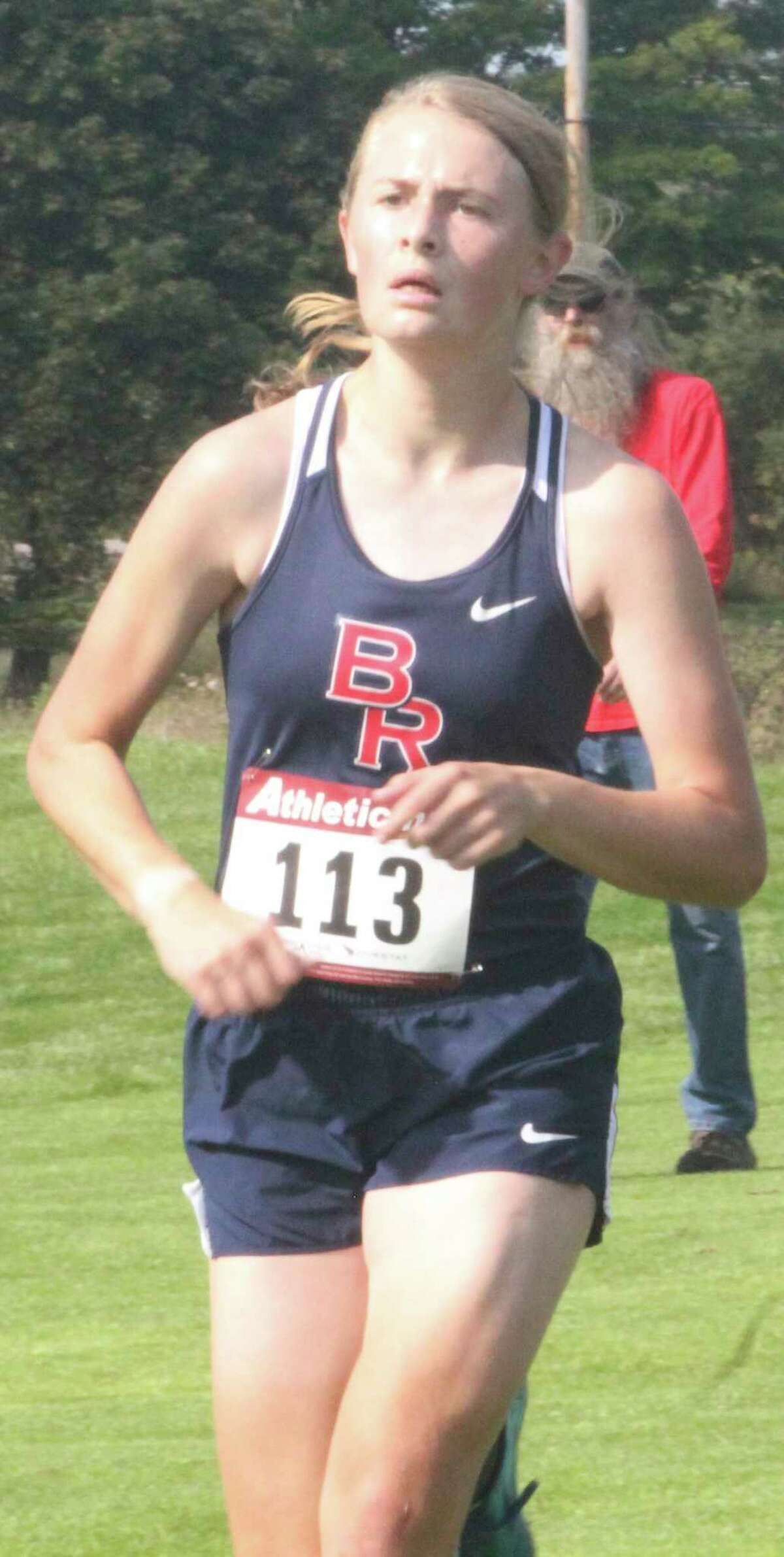 Big Rapids' Kate Langworthy will be in her senior cross country season this fall. (Pioneer file photo)
