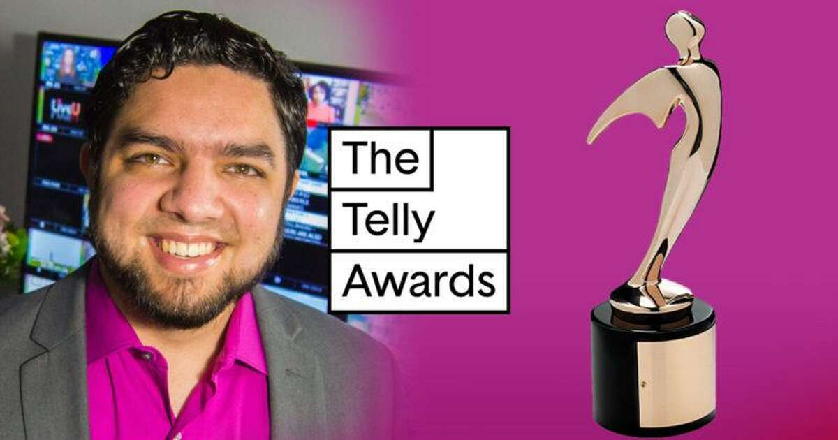 """Hamden native Marcus Harun's documentary """"Essential Journalists: How Coronavirus Changed TV News"""" was recently honored in the Online News category in the 42nd Annual Telly Awards."""