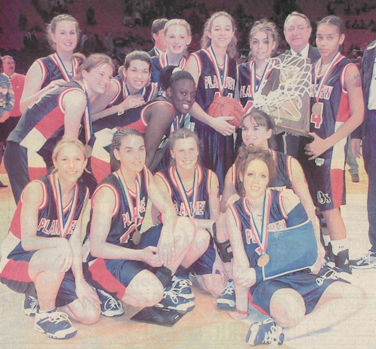 The Plainview Lady Bulldogs of the early 2000s were the most successful PHS athletic team in school history.