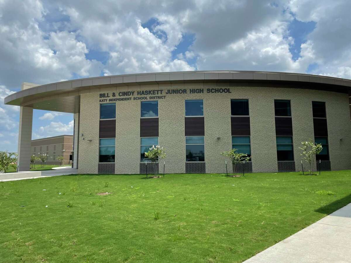 Haskett Junior High School will open for the first time on Aug. 18, 2021.