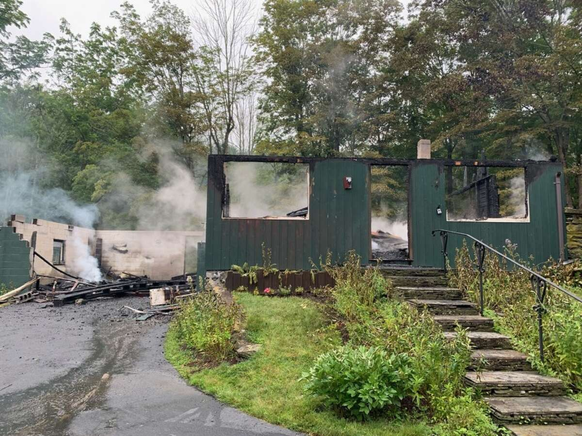 One day prior to closing, a single-family home located at 123 Milewood Road in the Town of Washington that had more than 30 offers burned to the ground.