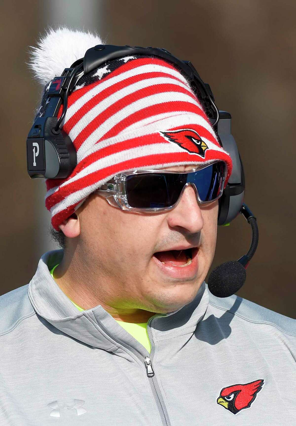Greenwich football coach Anthony Morello says that his team will have to be evaluated from top to bottom after not having played 11-on-11 football since 2019.