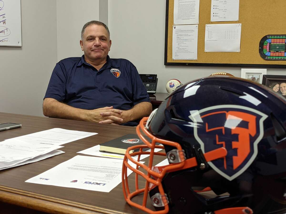 Albany Empire coach Tom Menas said the healthiest team will likely win the National Arena League title.