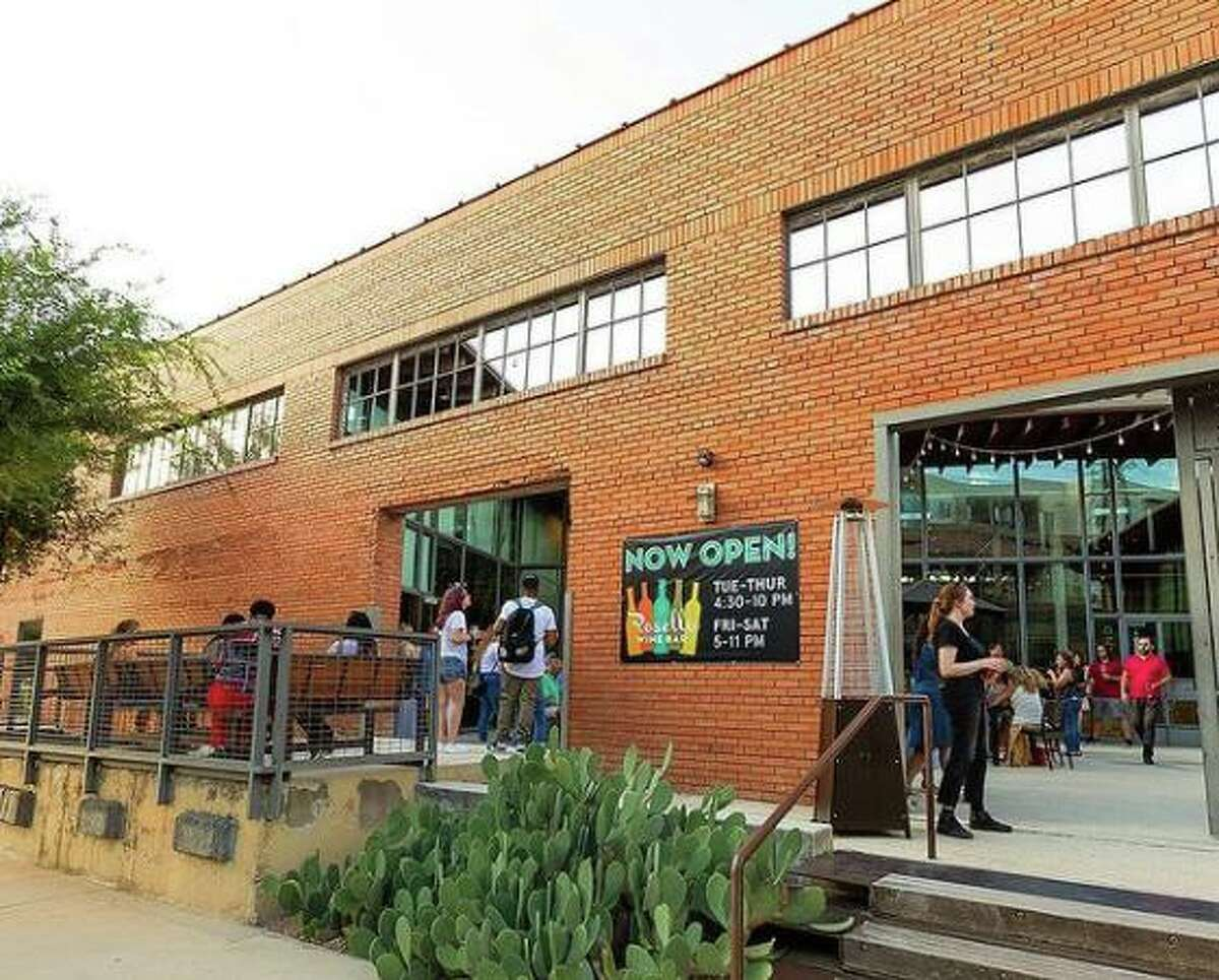 Rosella Coffee and Wine Bar is located at 203 E. Jones Ave.