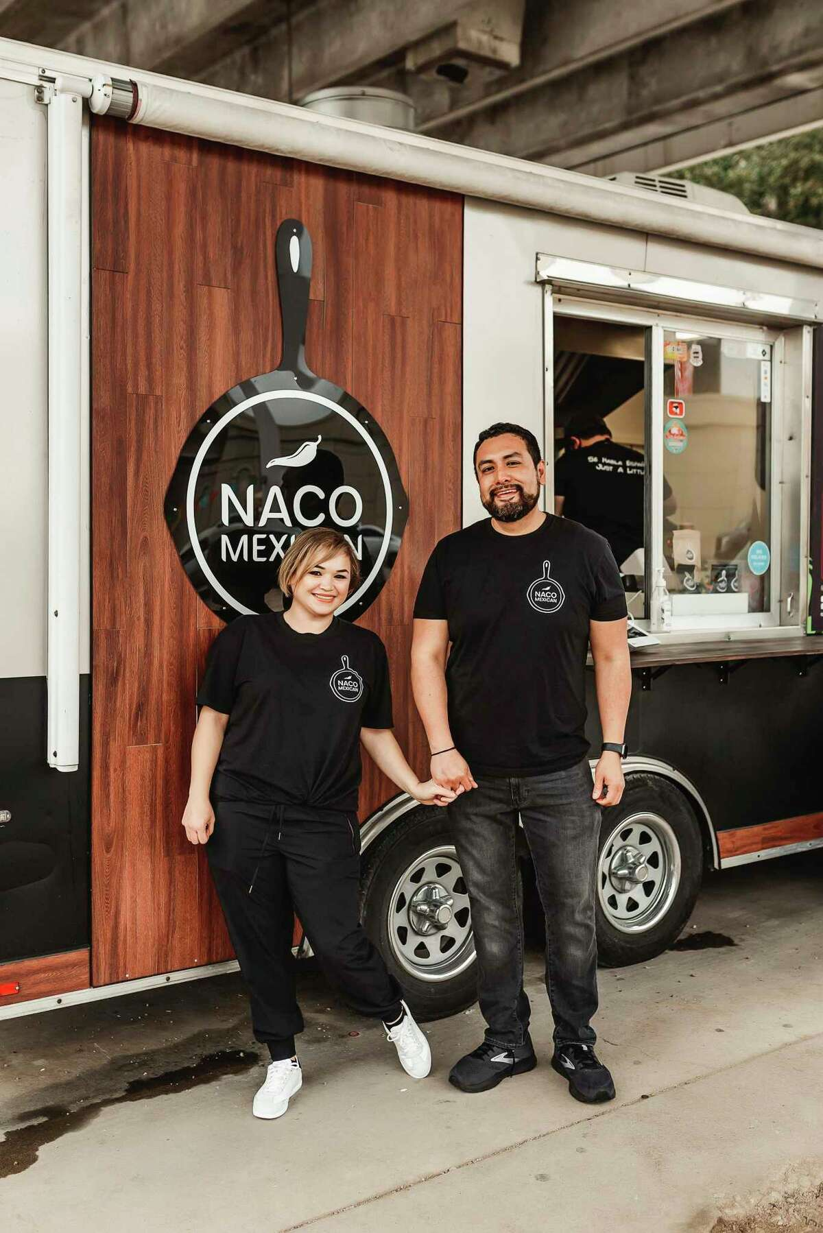 Lizzeth Martinez and Francisco Estrada own Naco Mexican Eatery, a San Antonio food truck that will open a brick-and-mortar location at Los Patios on the Northeast Side in the fall.
