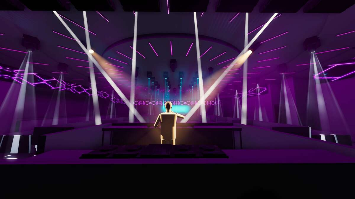 """Renderings for SEKAI DAY AND NIGHT, a """"mega"""" club set to open in Houston's East End this fall."""