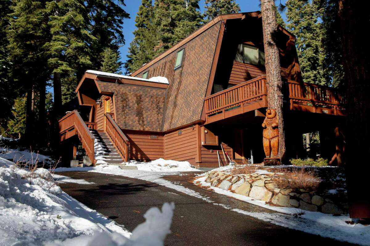 An Airbnb rental home in the Agate Bay community near Lake Tahoe in Carnelian Bay. Placer County supervisors have unanimously approved a temporary moratorium on new permits for short-term rentals.