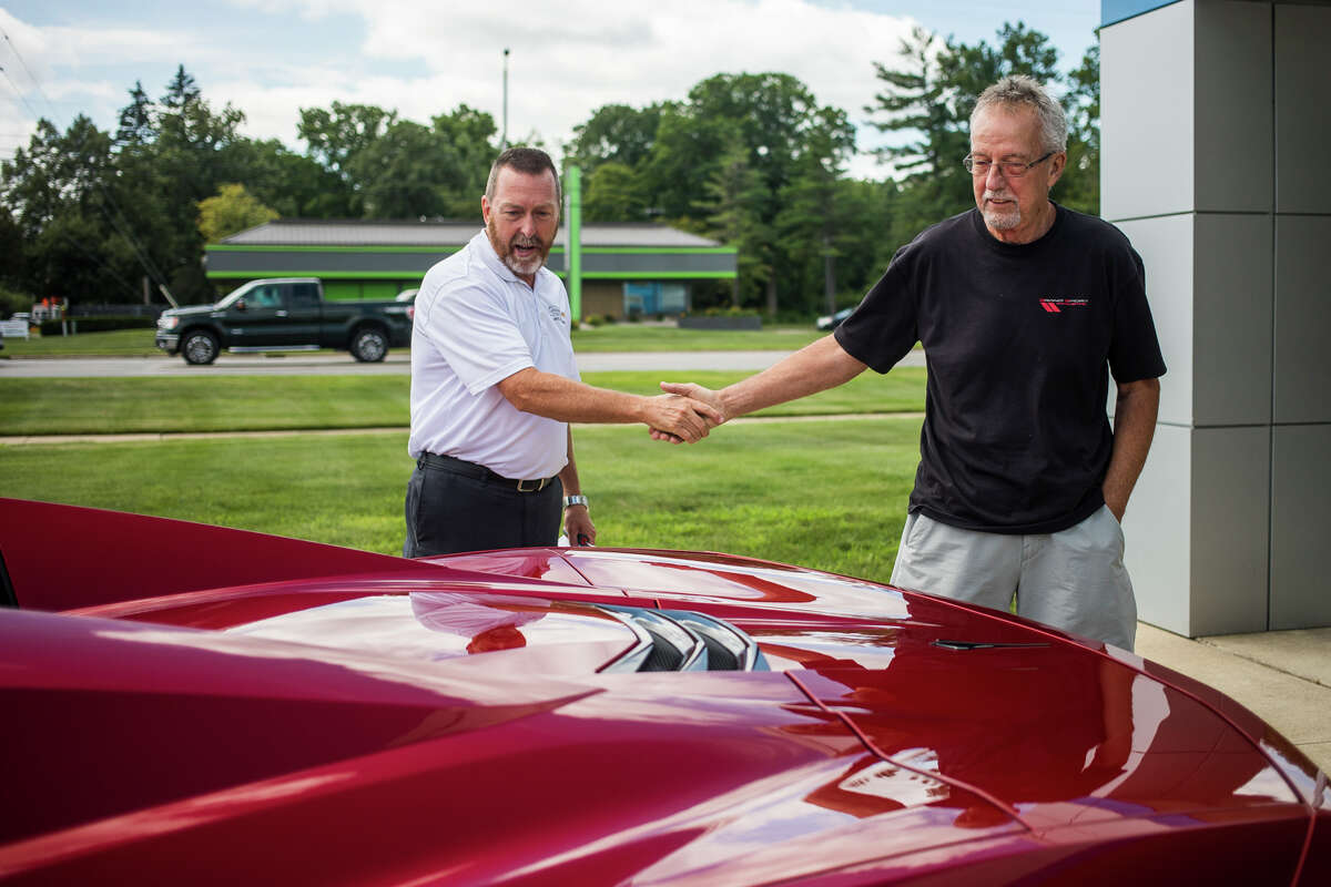 Auto Dealership Service Department: Garber Chevrolet Midland.