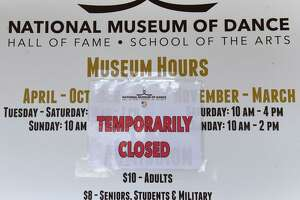 The National Museum of Dance & Hall of Fame is temporarily closed on Friday, July 30, 2021, at Saratoga Spa State Park in Saratoga Springs, N.Y.
