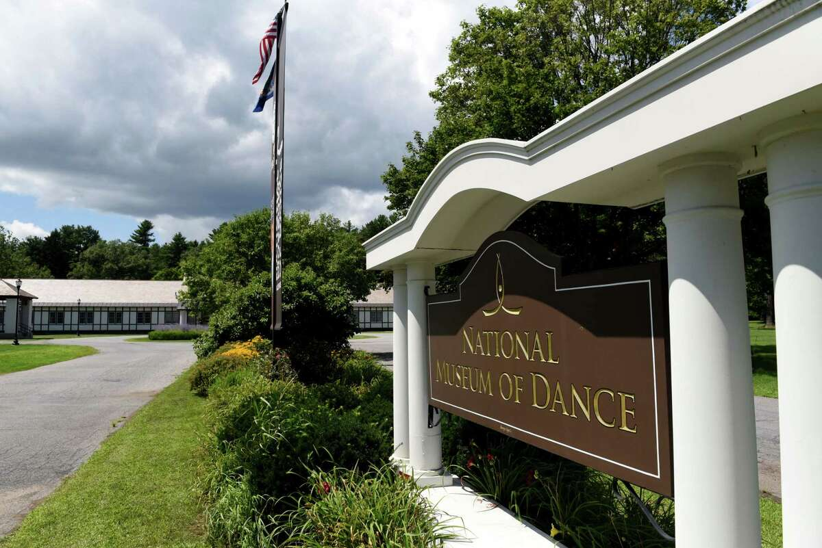 Exterior of the National Museum of Dance & Hall of Fame, which is temporarily closed on Friday, July 30, 2021, at Saratoga Spa State Park in Saratoga Springs, N.Y.