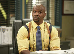 Pictured: Terry Crews as Terry Jeffords