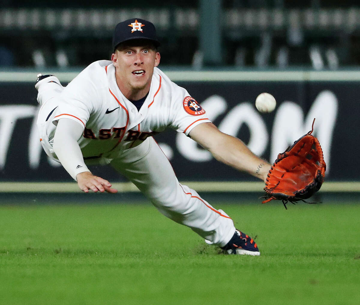 The Astros will miss Myles Straw's speed on the basepaths and in center field.