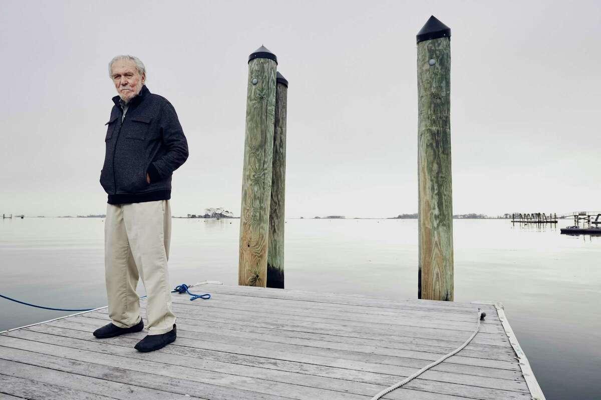 Bruce Kirby, designer of the Laser sailboat.