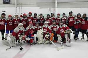 The Connecticut High School Girls Hockey Association team, which went 4-0 at the Hockey Night In Boston SE/RI Festival at the Bog in Kingston, Mass. on July 13-14.
