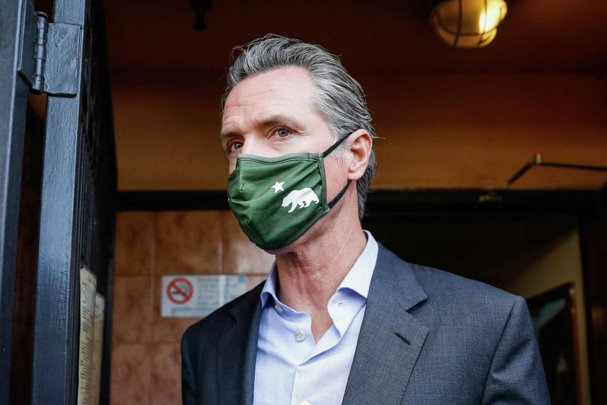 Gov. Gavin Newsom faces a recall election in September, fueled in part by anger over his pandemic policies.