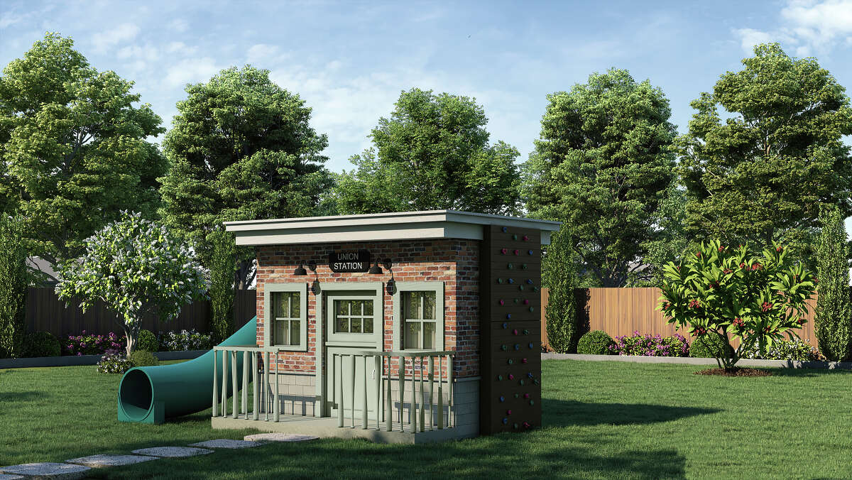 Legend Homes designed and built the 2021 HomeAid Project Playhouse Union Station that is currently on display with posters and a video clip at Minute Maid Park through August 20.