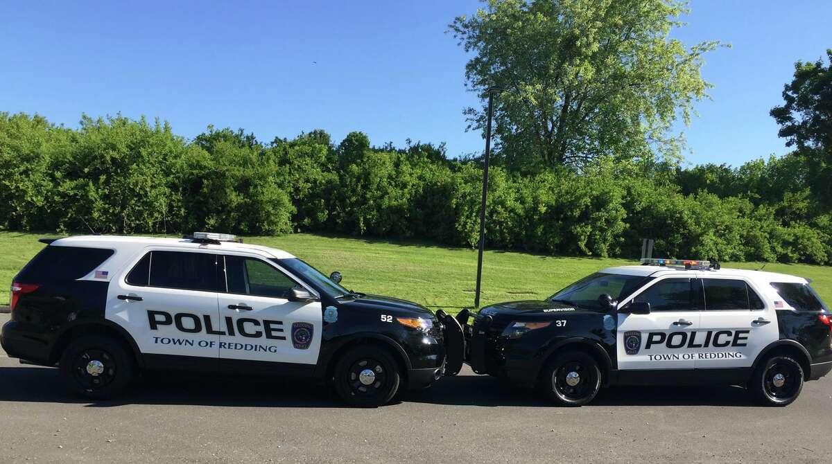 Redding police cruisers