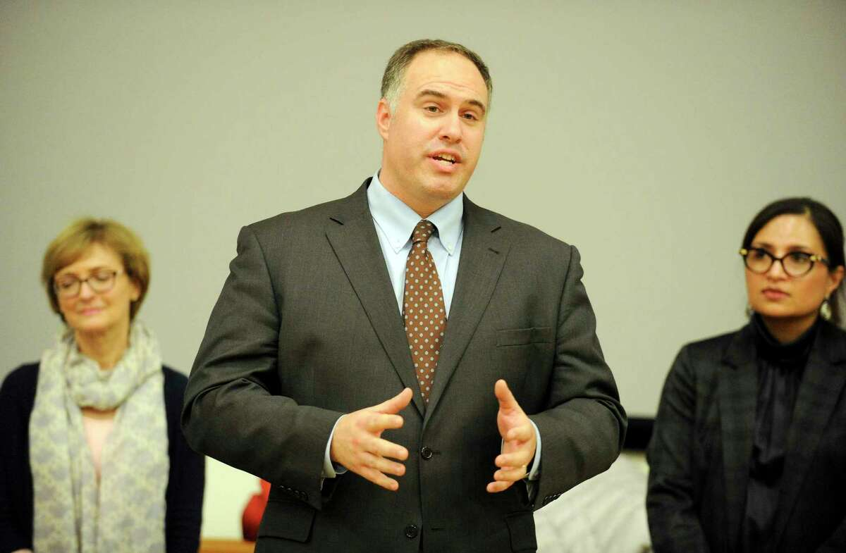 Regional School District 4 Superintendent Brian White is shown in this file photo.