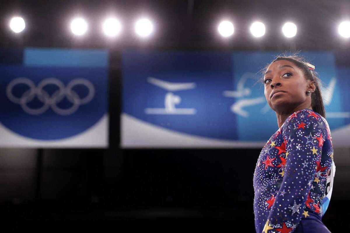 """Simone Biles has shown mental health is health. This is my favorite Biles """"move"""" of all - fighting against the stigma of mental health and illness."""