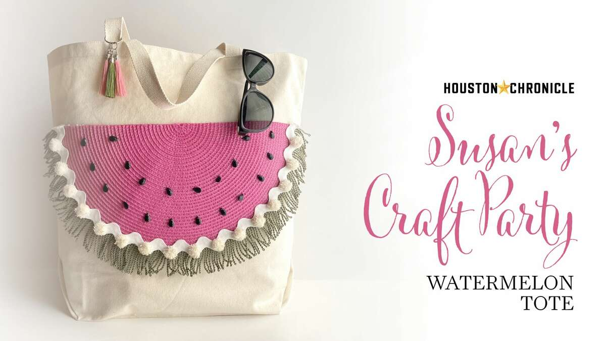 Susan's Craft Party - Watermelon Tote