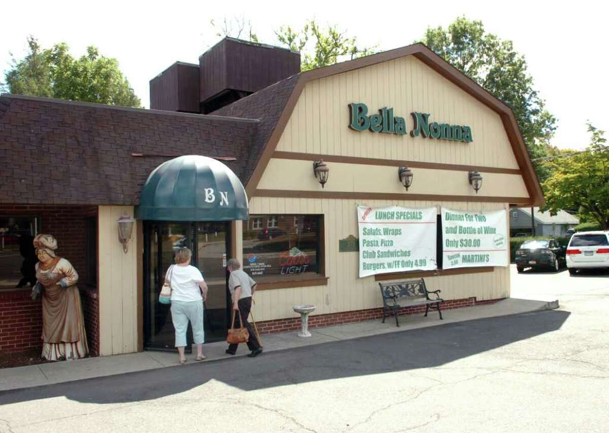 Bella Nonna Restaurant located at 371 East Putnam Ave., Cos Cob, Wednesday, Sept. 15, 2010. The Chase Bank branch proposal for the Bella Nonna site was turned down by the zoning commissioners.