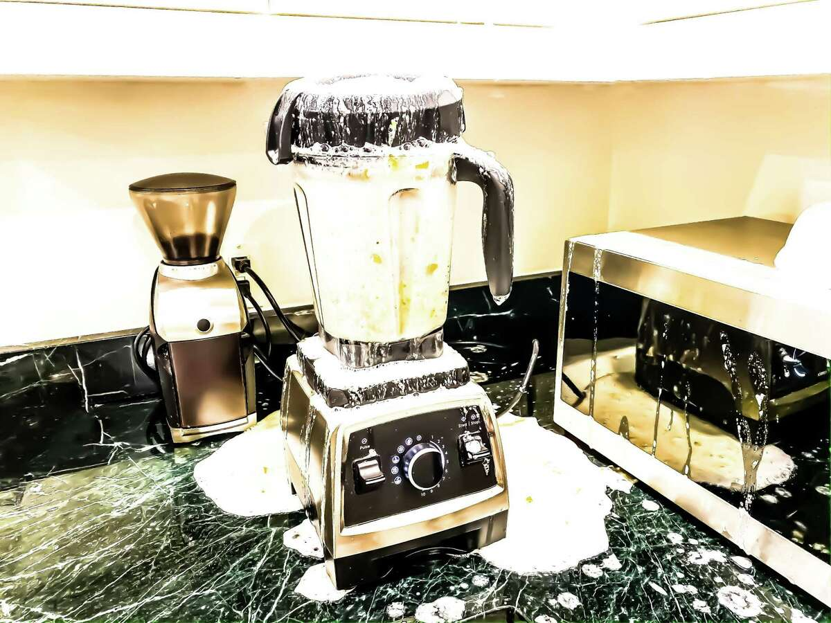 Don't forget to regularly clean the base of your blender as well.