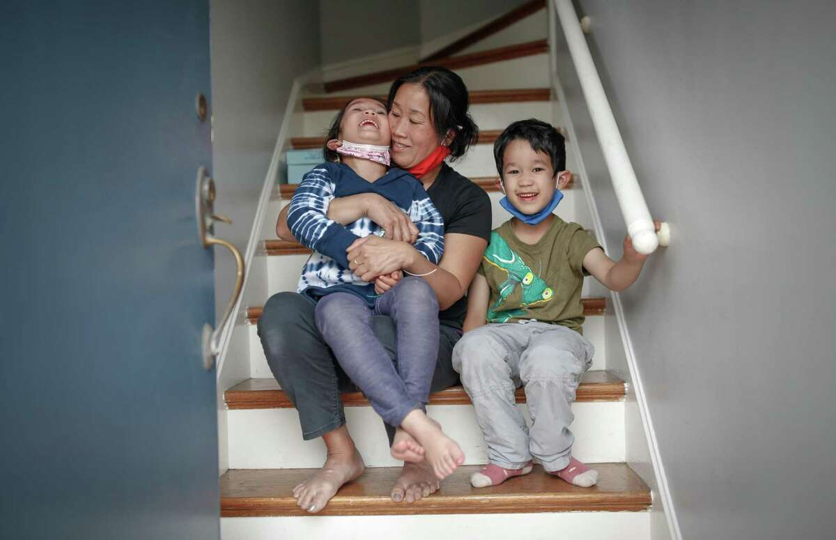 With two weeks to go before her children return to school, Kimberly Shu shares quality time at home with Zoe and Lucas.