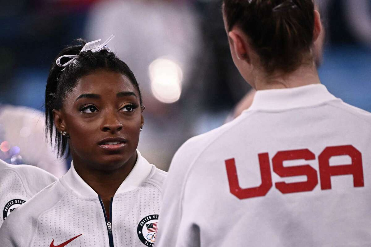 """For Biles to return to competition she must cope with the """"twisties,"""" the disquieting feeling suffered by gymnasts and divers when they lose their sense of where they are in air."""