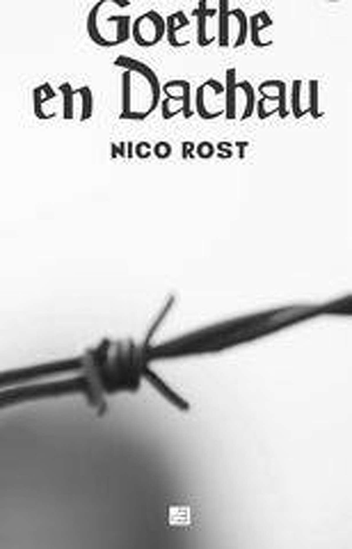 """Portada del libro """"Goethe en Dachau"""" de Nico Rost."""