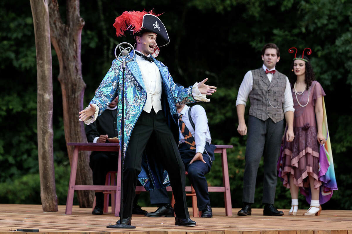 """Michael Pandolfo as Don Andrés in The Glimmerglass Festival's 2021 production of """"Songbird."""" Photo: Karli Cadel/The Glimmerglass Festival"""