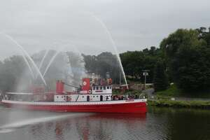 Hudson River Maritime Museum welcomes Fireboat John J. Harvey to the museum's waterfront campus in Kingston from Friday, Aug. 13 to Monday, Aug. 16.