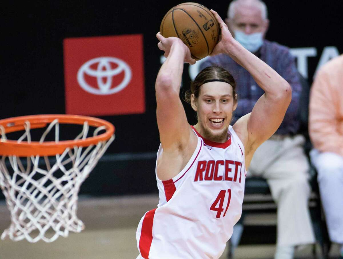 The Rockets have several options to consider with Kelly Olynyk as free agency begins.