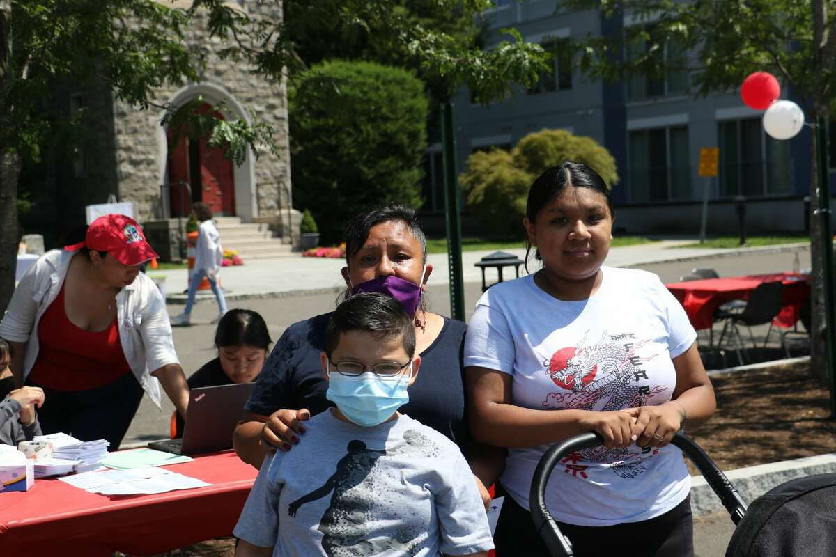 St. Andrew's Episcopal Church in Stamford, Conn. hosted a block party on Saturday, July 31, 2021. The event featured live music, games and food trucks. Were you SEEN?