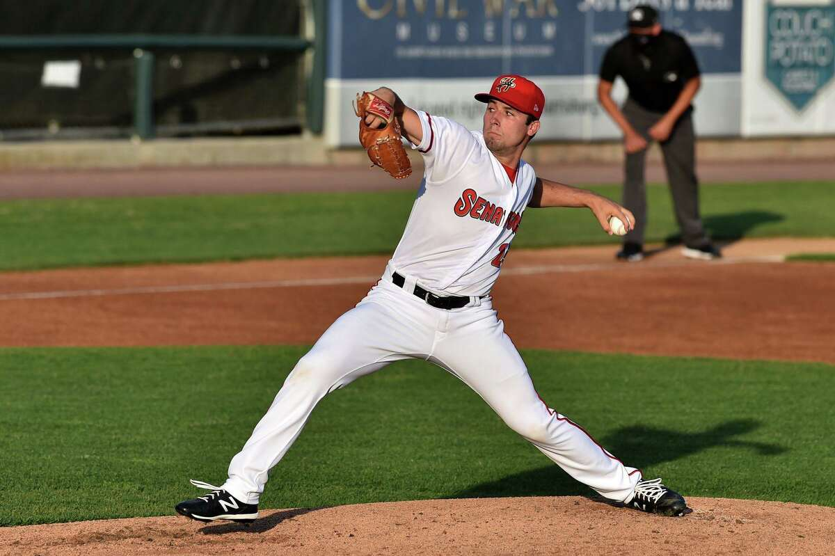 Manchester product and former UConn ace Tim Cate went head-to-head with Red Sox ace Chris Sale in a recent start for Double-A Harrisburg.