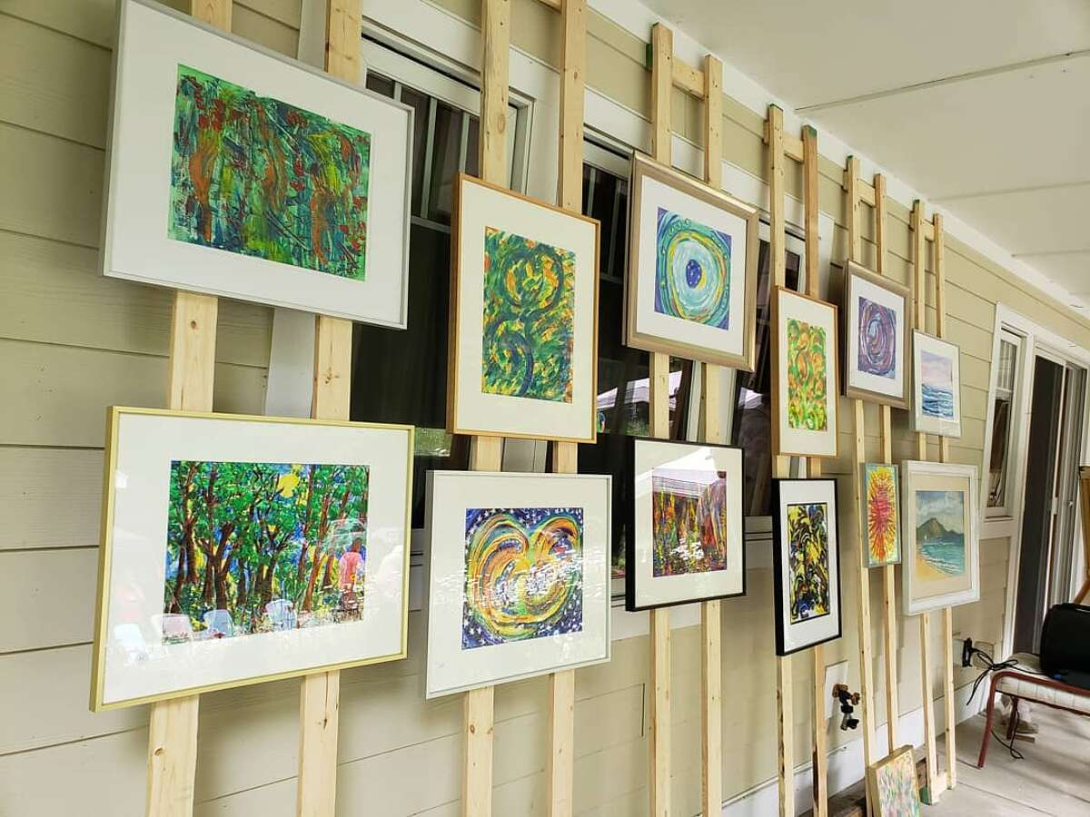 An art fair with creations by about 10 local artists is going on in Pierport Saturday and Sunday from 10 a.m. to 5 p.m. at 2946 13 Mile Road.